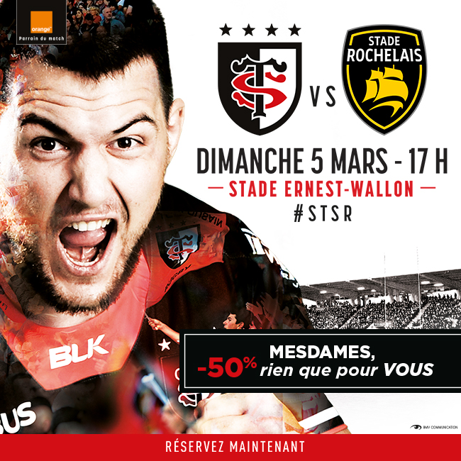 top 14 16 me journ e quatre points quand m me stade toulousain. Black Bedroom Furniture Sets. Home Design Ideas