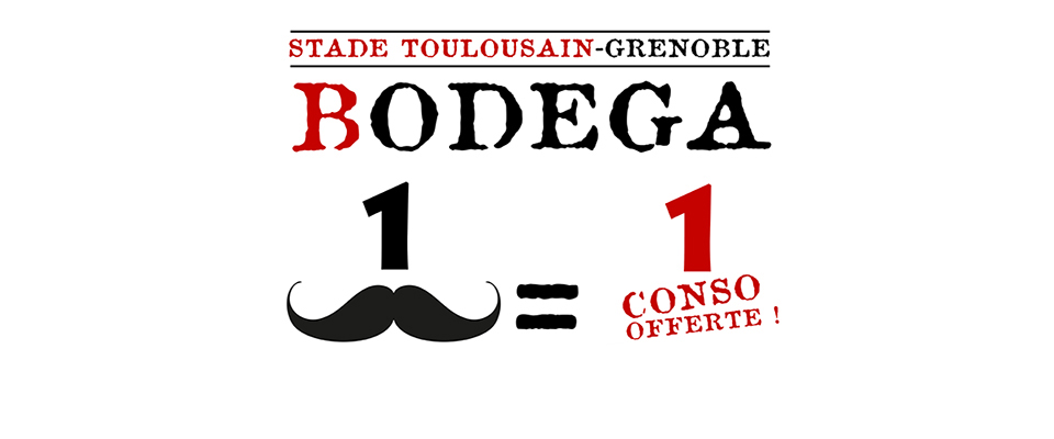 stade grenoble rendez vous la bodega stade toulousain. Black Bedroom Furniture Sets. Home Design Ideas